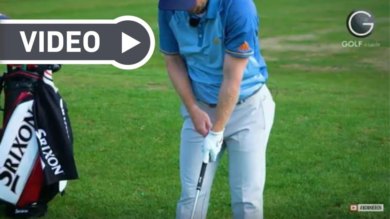 Fabian Bünker von Golf in Leicht erklärt in dieser Episode, wie man die Handgelenke im Golfschwung richtig bewegt. (Foto: YouTube / Golf in Leicht)