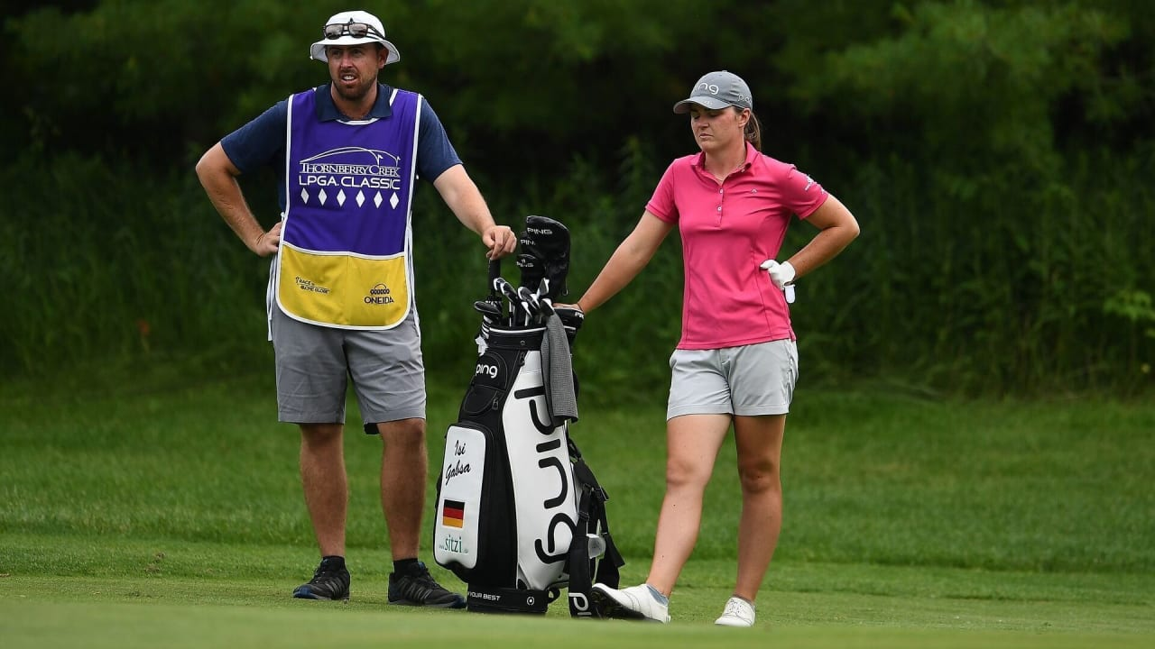 Isi Gabsa ist in dieser Woche die einzige deutsche Starterin auf der LPGA Tour. (Bildquelle: Getty)