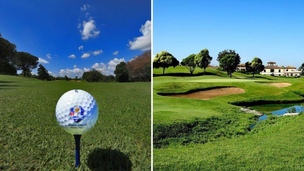 Der Marco Simone Golf and Country Club erstrahlt im Glanz. (Foto: Instagram/@marcosimonegolf)