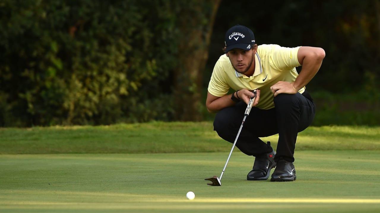 Thomas Pieters beweist mit einer wahnsinnig schnellen Finalrunde auf der Italian Open, dass Slow Play nicht immer ein besseres Spiel voraussetzt. (Foto: Getty)