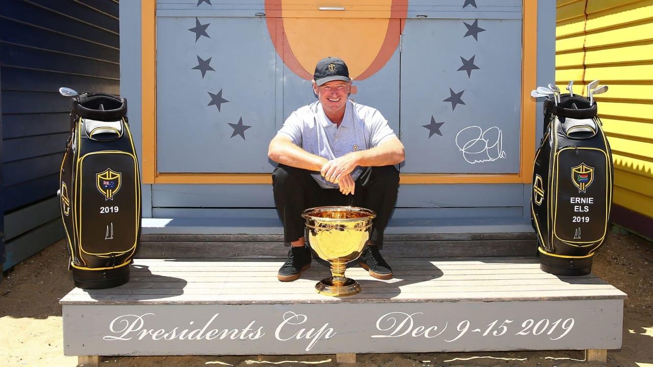Ernie Els komplettiert sein Presidents Cup Team (Bildquelle: Getty)
