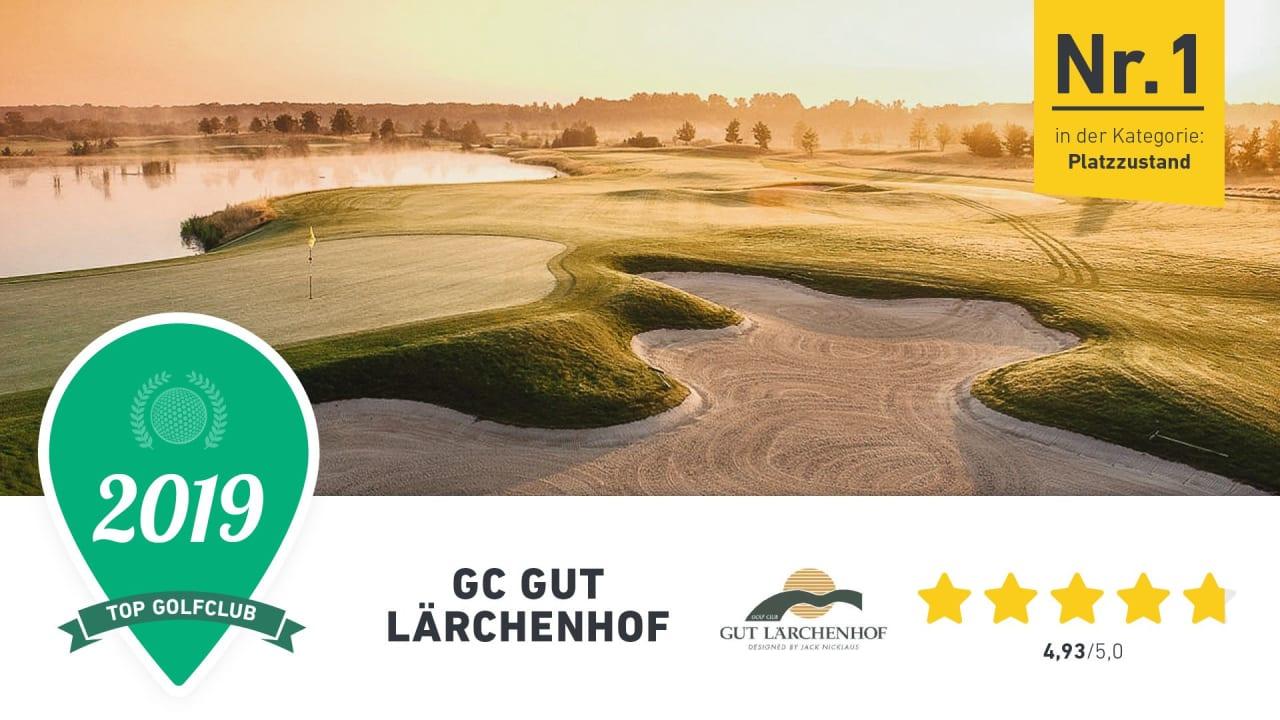 Der GC Gut Lärchenhof zeichnet sich durch seinen Platzzustand aus, findet die Golf Post Community. (Foto: Golf Post)