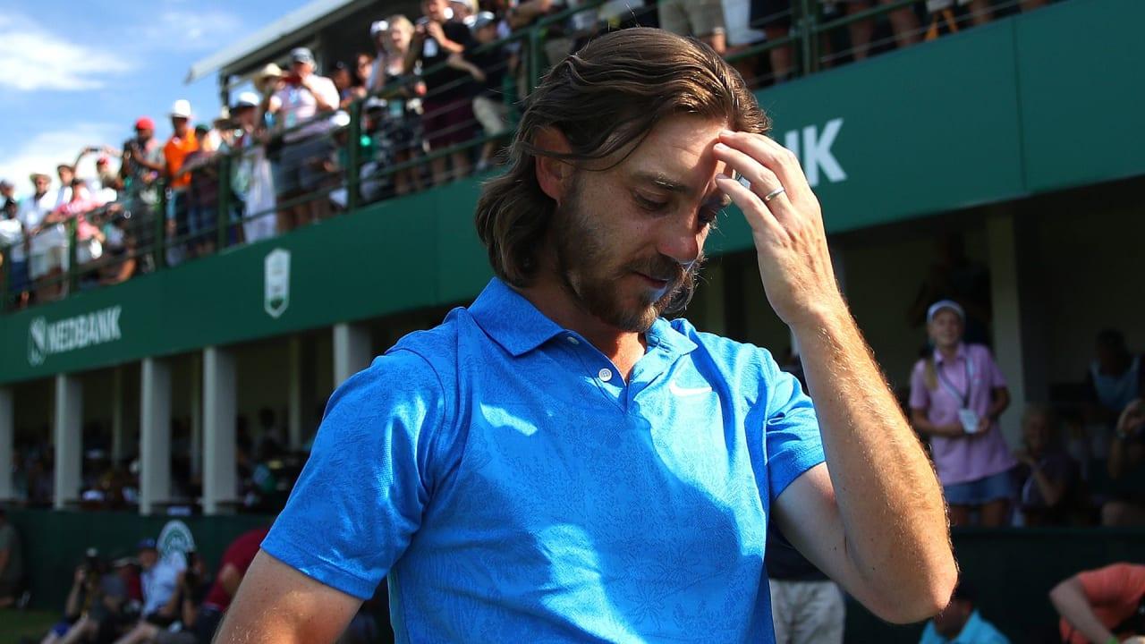 Tommy Fleetwod war nach seinem Sieg bei der Nedbank Golf Challenge sichtlich gerührt. (Foto: Getty)