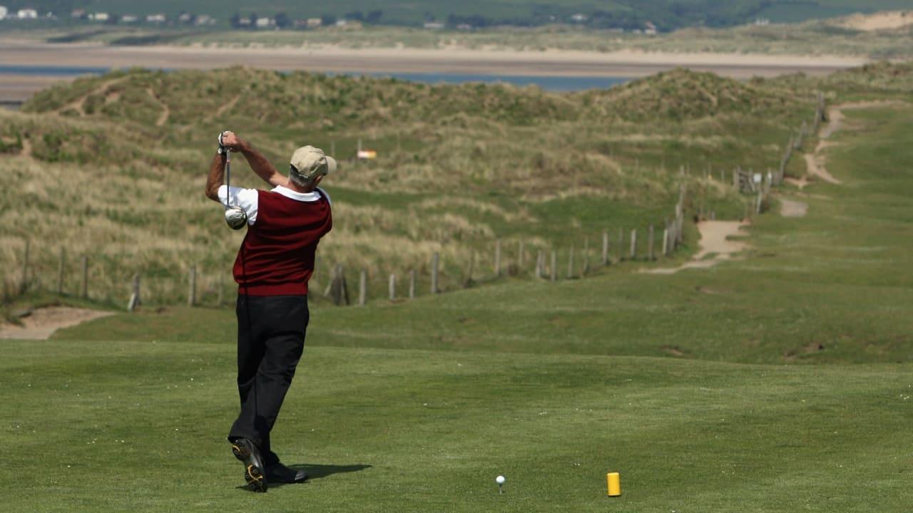 Der Westward Ho! in England ist der erste Golfclub, der in Zukunft Plastik-Tees verbietet. (Foto: Getty)