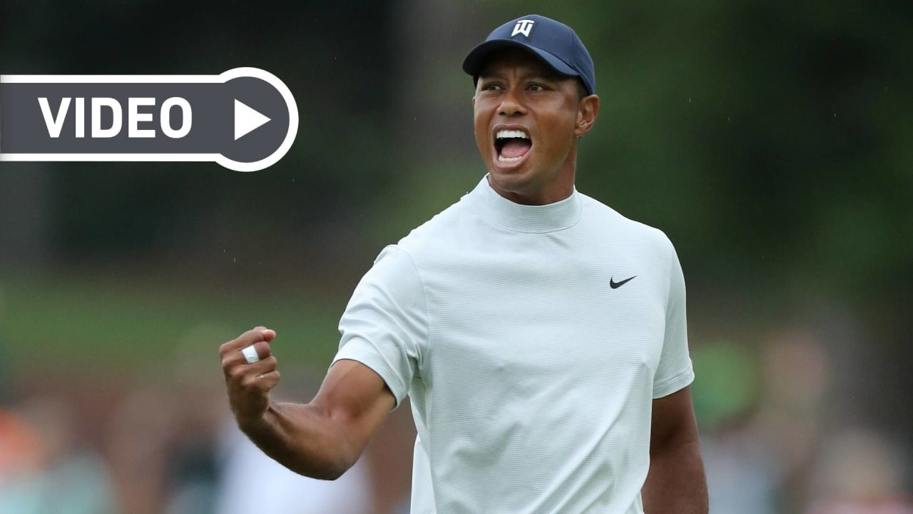 Tiger Woods sorgte in diesem Jahrzehnt für zahlreiche Highlights. (Foto: Getty)