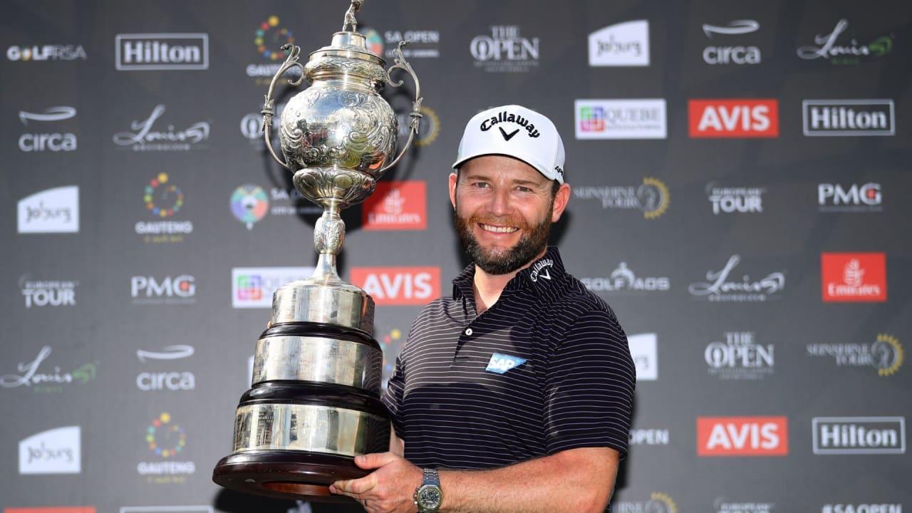 Branden Grace gewinnt die South African Open 2020 der European Tour. (Foto: Getty)