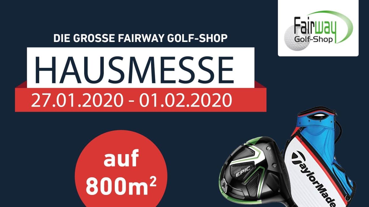 Für Golfer ein Muss - die Hausmesse des Fairway Golf-Shops.(Foto: Golf Post)