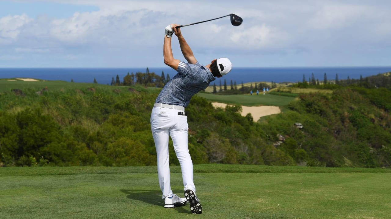 Joaquin Niemann startet grandios ins Jahr 2020 und führt nach der ersten Runde auf der PGA Tour. (Foto: Getty)