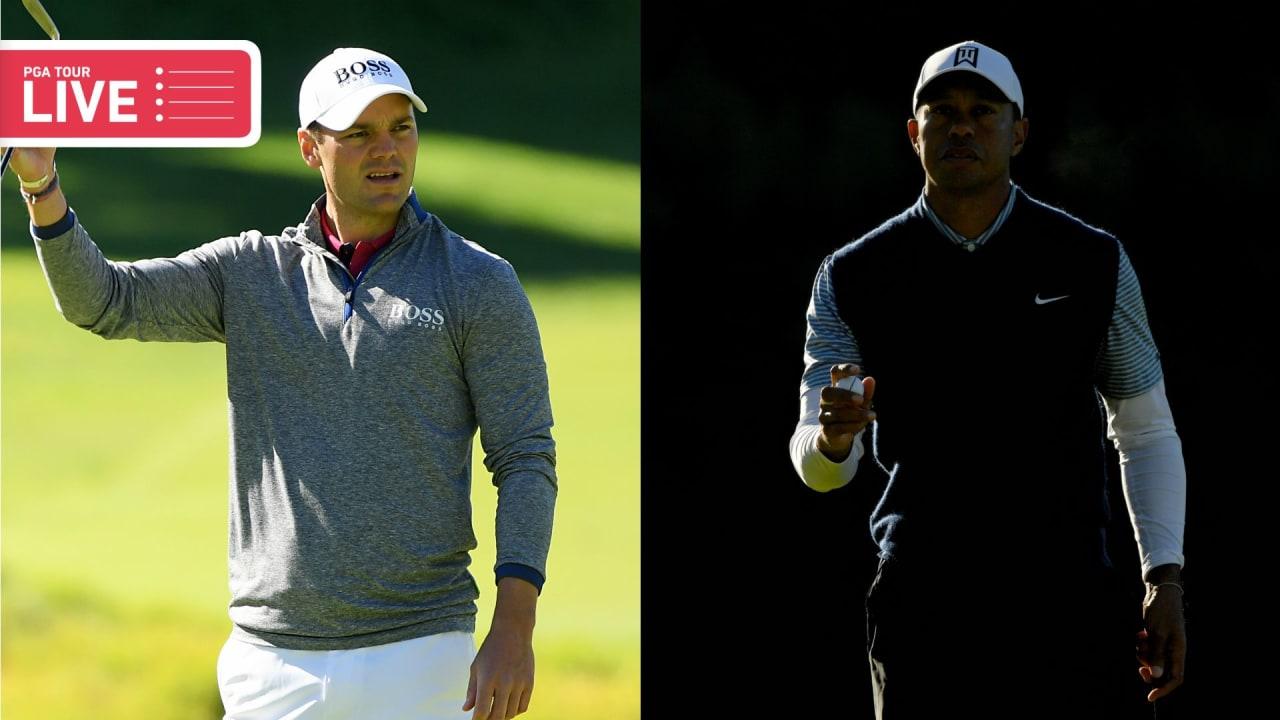 Martin Kaymer, Tiger Woods live bei der Genesis Open 2019 der PGA Tour. (Foto: Getty)