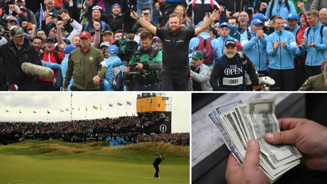 Die British Open 2019 in Zahlen. (Foto: Getty)