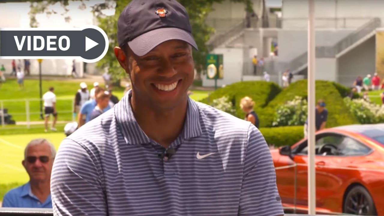 Tiger Woods durch seine langen und beeindruckenden Karriere grandiose Statistiken aufzuweisen. (Foto: YouTube / PGATOUR)