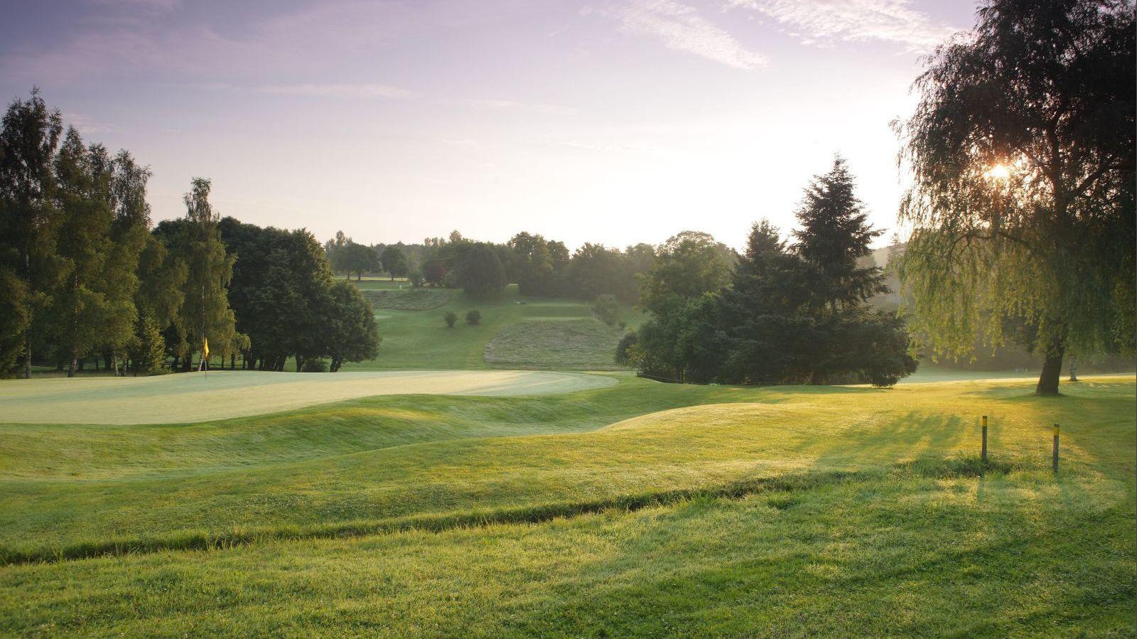 Golfplatz in Bobingen-Burgwalden