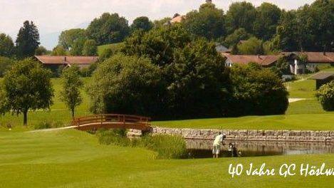 Golfplatz in Höslwang