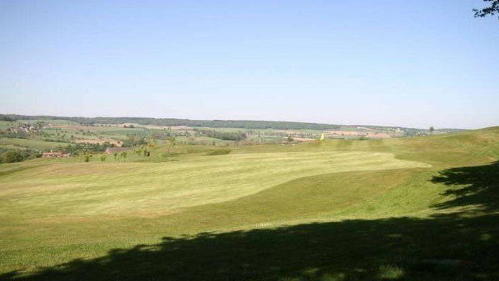 Golfplatz in Gemmenich / Belgien