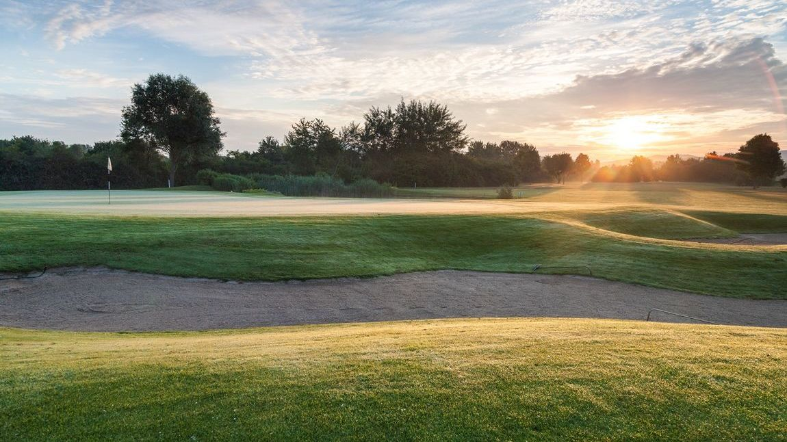 Golfplatz in Bensheim