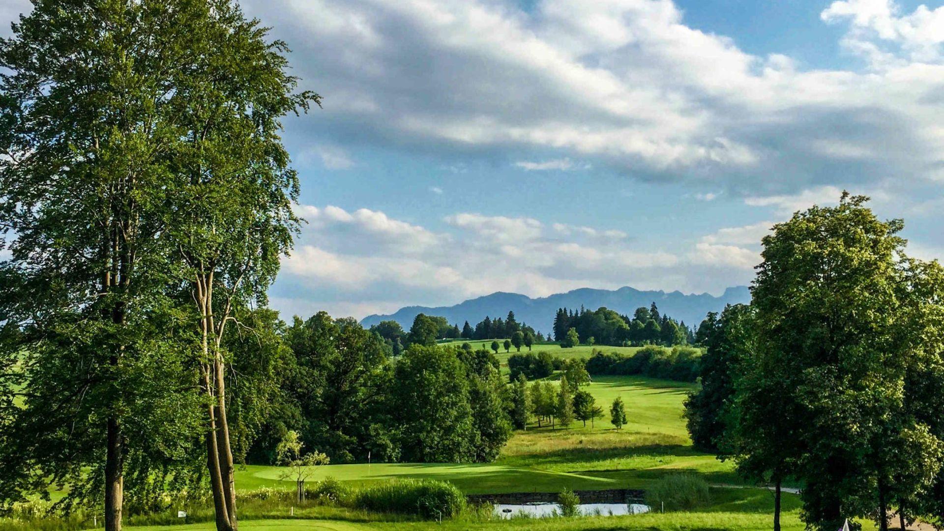 Golfplatz in Bad Tölz