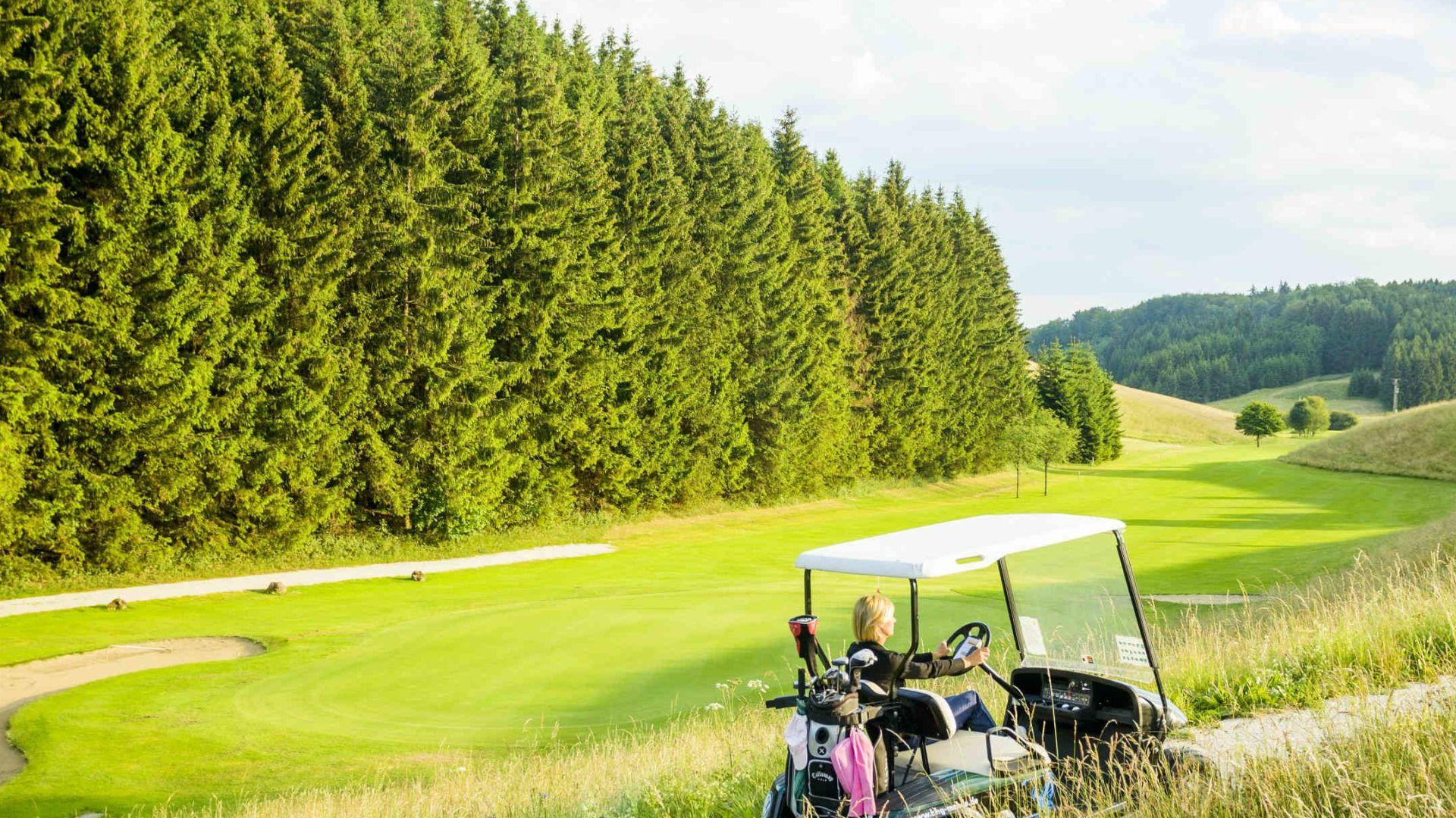 Golfplatz in Sonnenbühl-Undingen