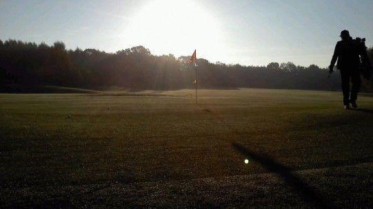 Golfplatz in Deinste