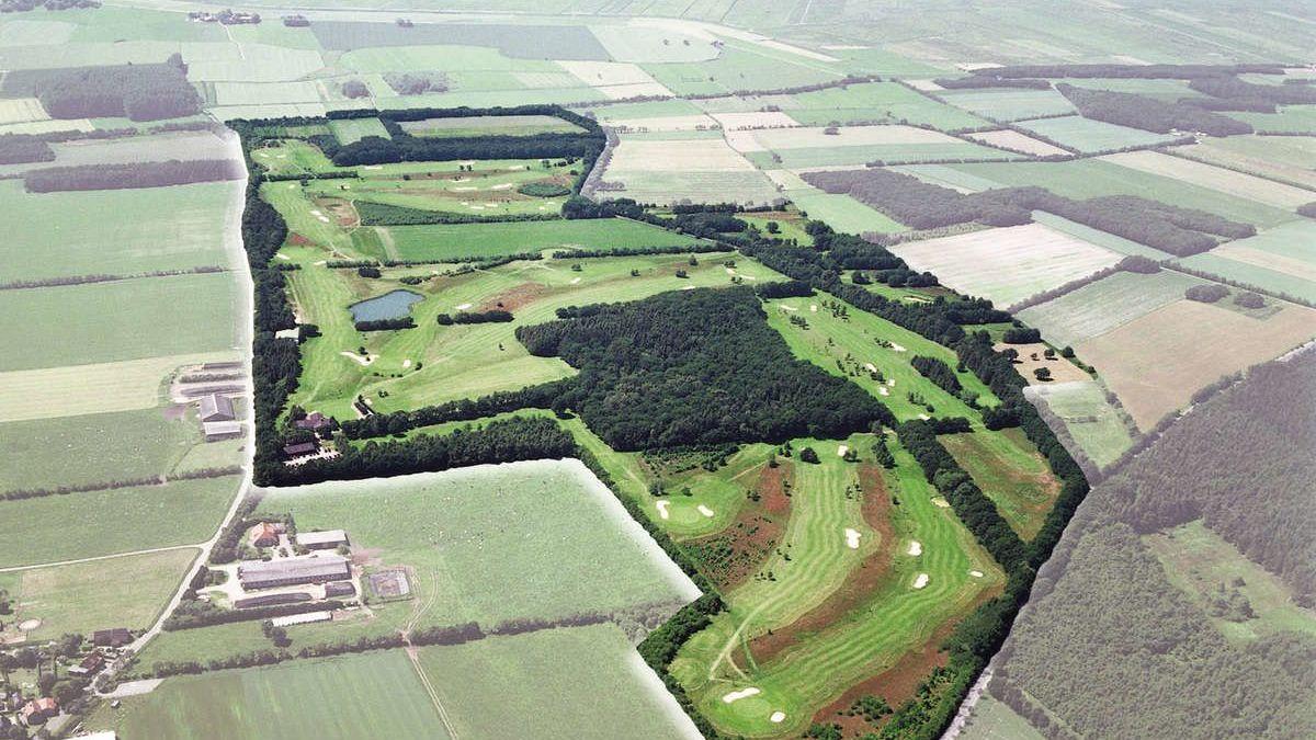 Golfplatz in Cuxhaven-Oxstedt