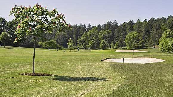 Golfplatz in Weitramsdorf-Tambach