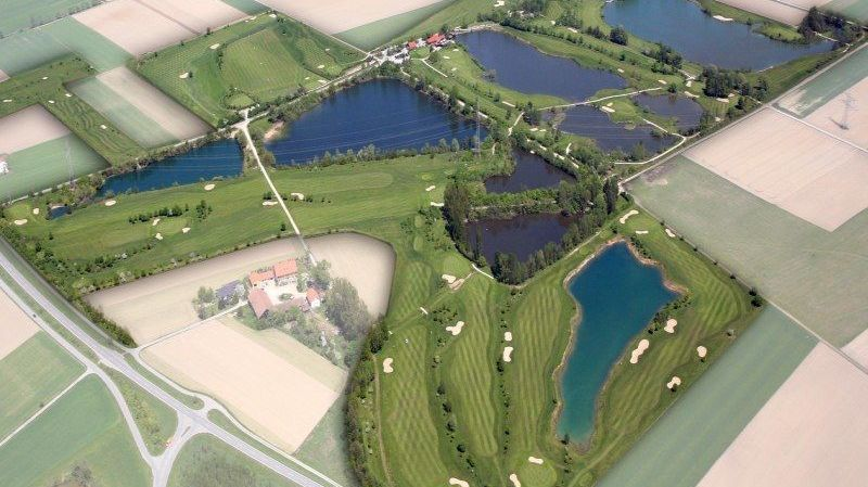 Golfplatz in Kirchroth-Kößnach