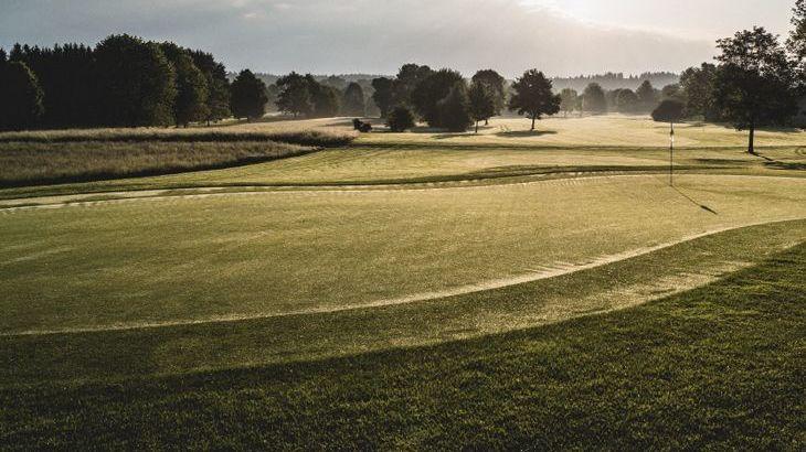 Golfplatz in Chieming-Hart