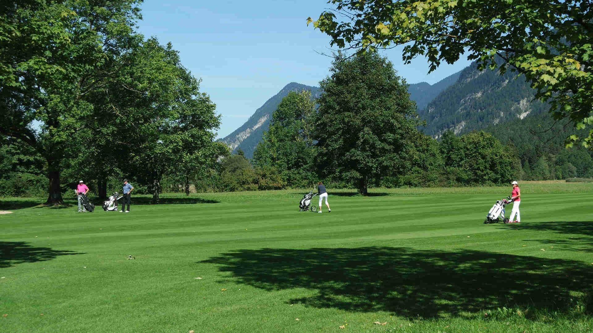 Golfplatz in Waakirchen am Tegernsee