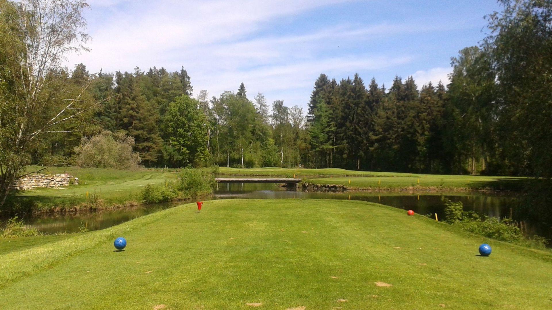 Golfplatz in Jettingen-Scheppach