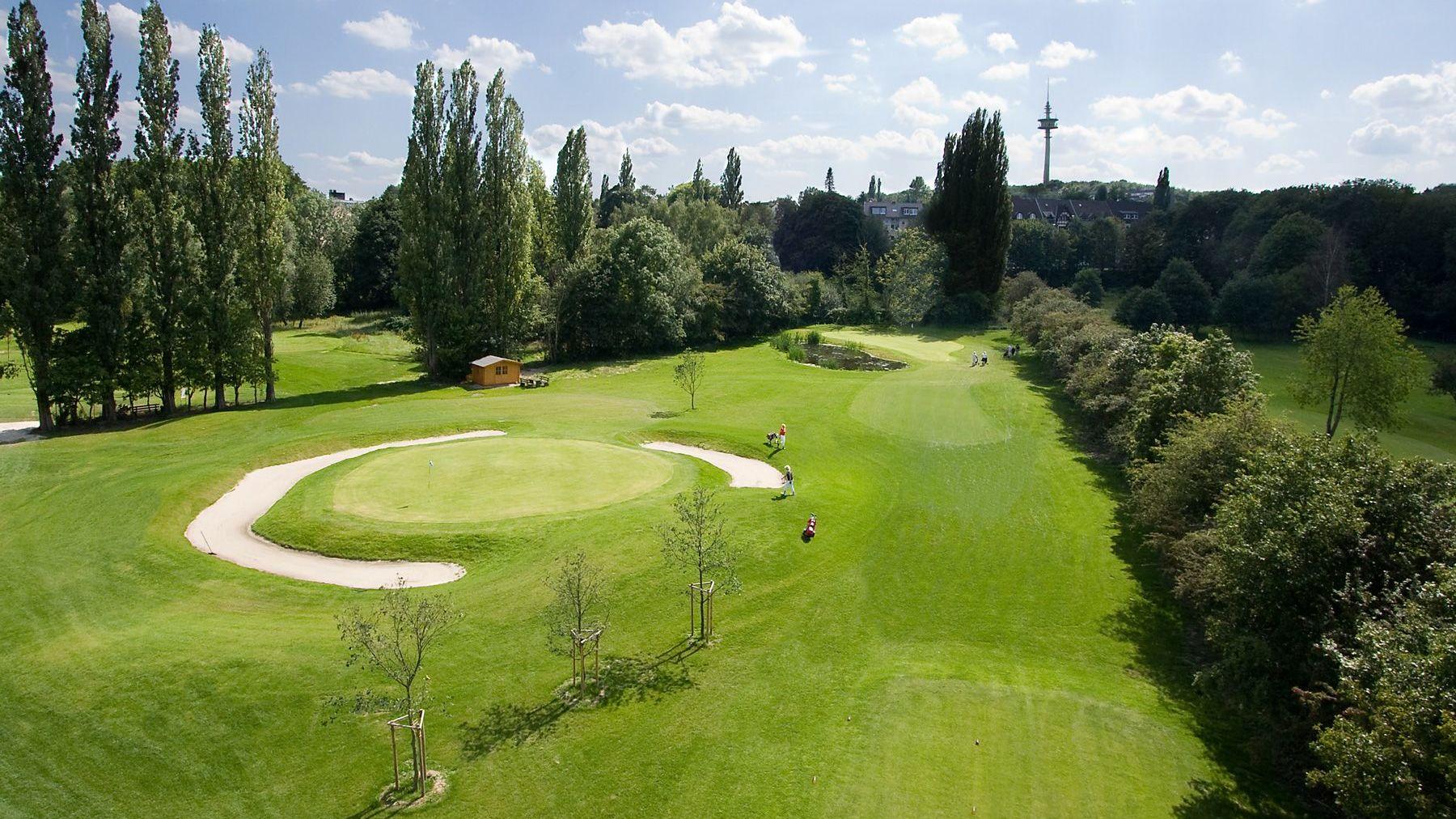 Golfplatz in Mülheim an der Ruhr