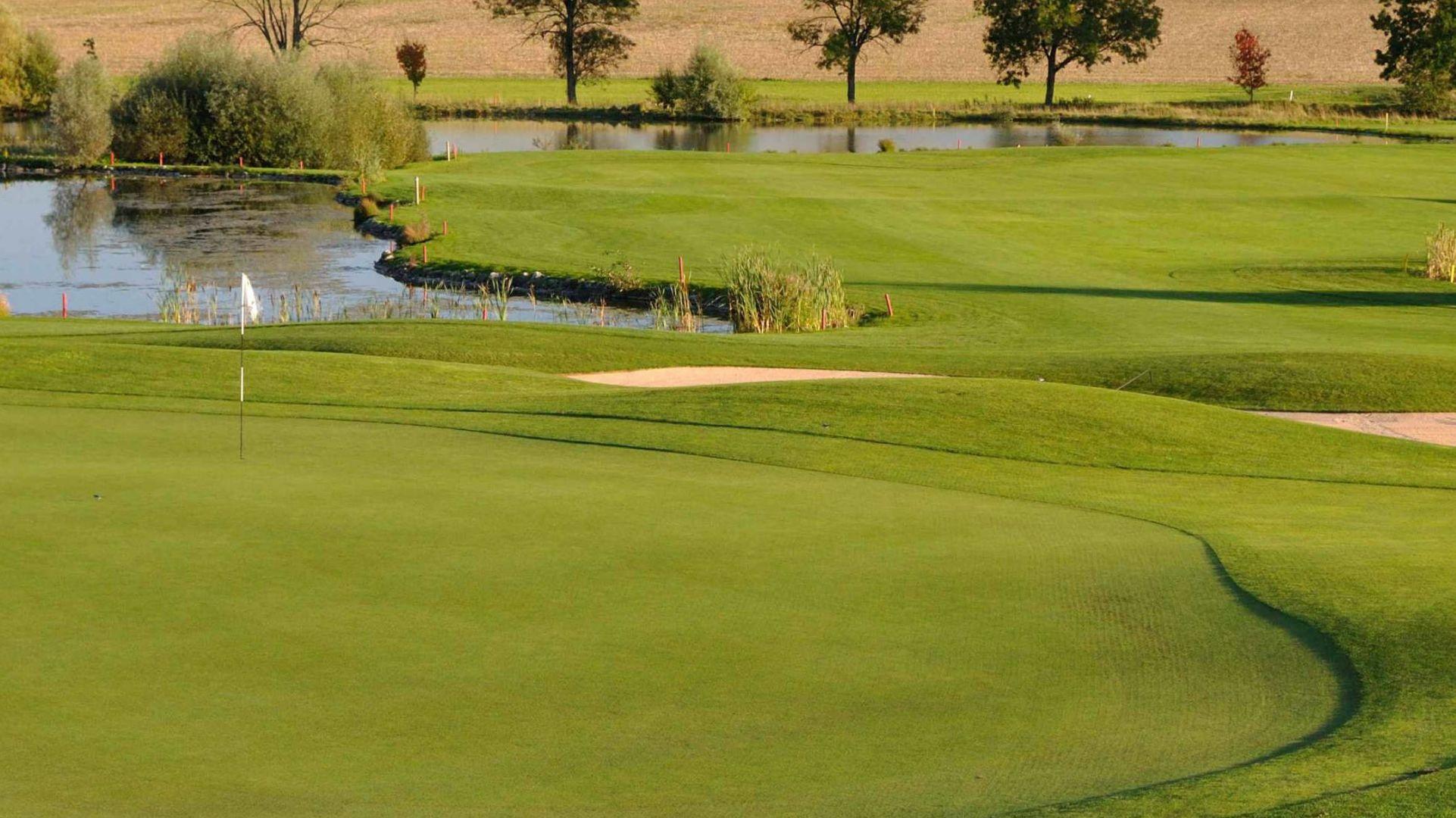 Golfplatz in Markt Indersdorf