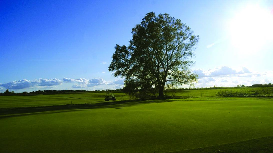 Golfplatz in Wall