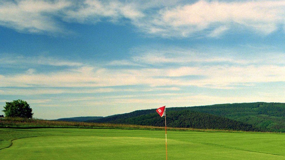 Golfplatz in Beerfelden-Hetzbach/Odenwald