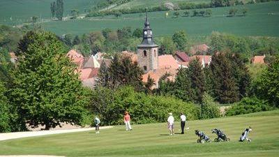 Golfplatz in Falkenstein/OT Meisdorf