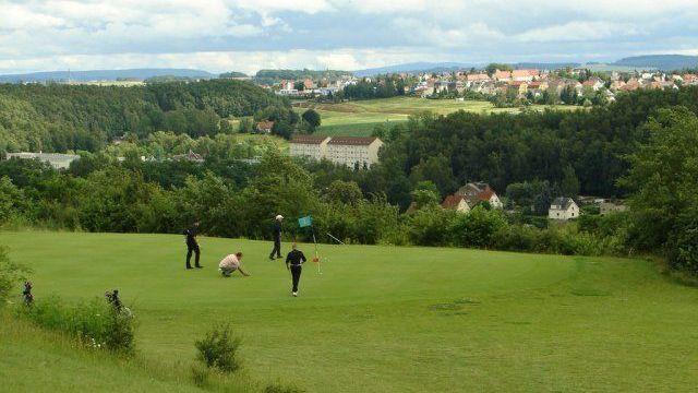 Golfplatz in Zwickau