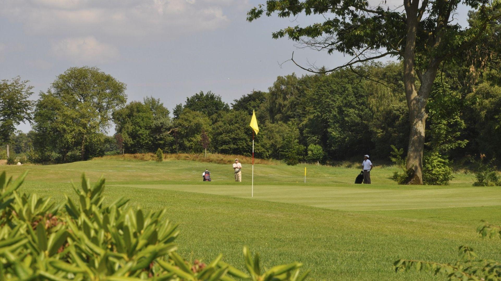Golfplatz in Wiesmoor-Hinrichsfehn