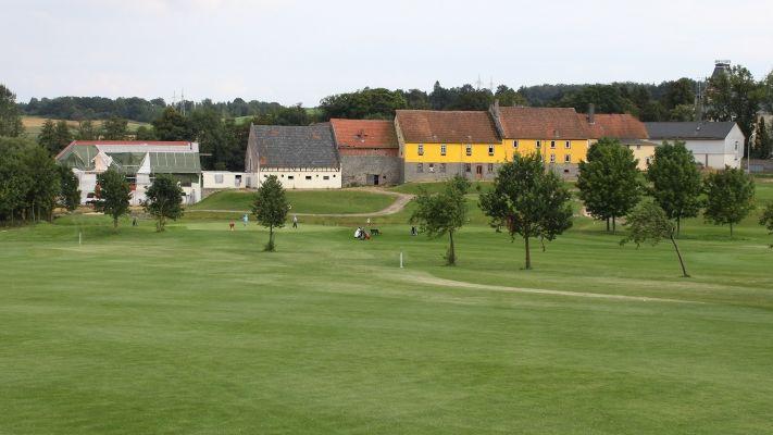 Golfplatz in Lauterbach/Sickendorf