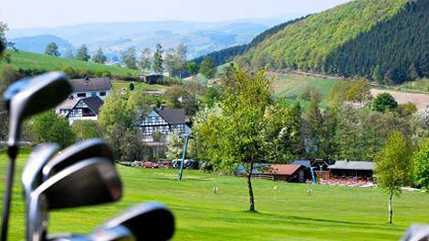 Golfplatz in Wuppertal