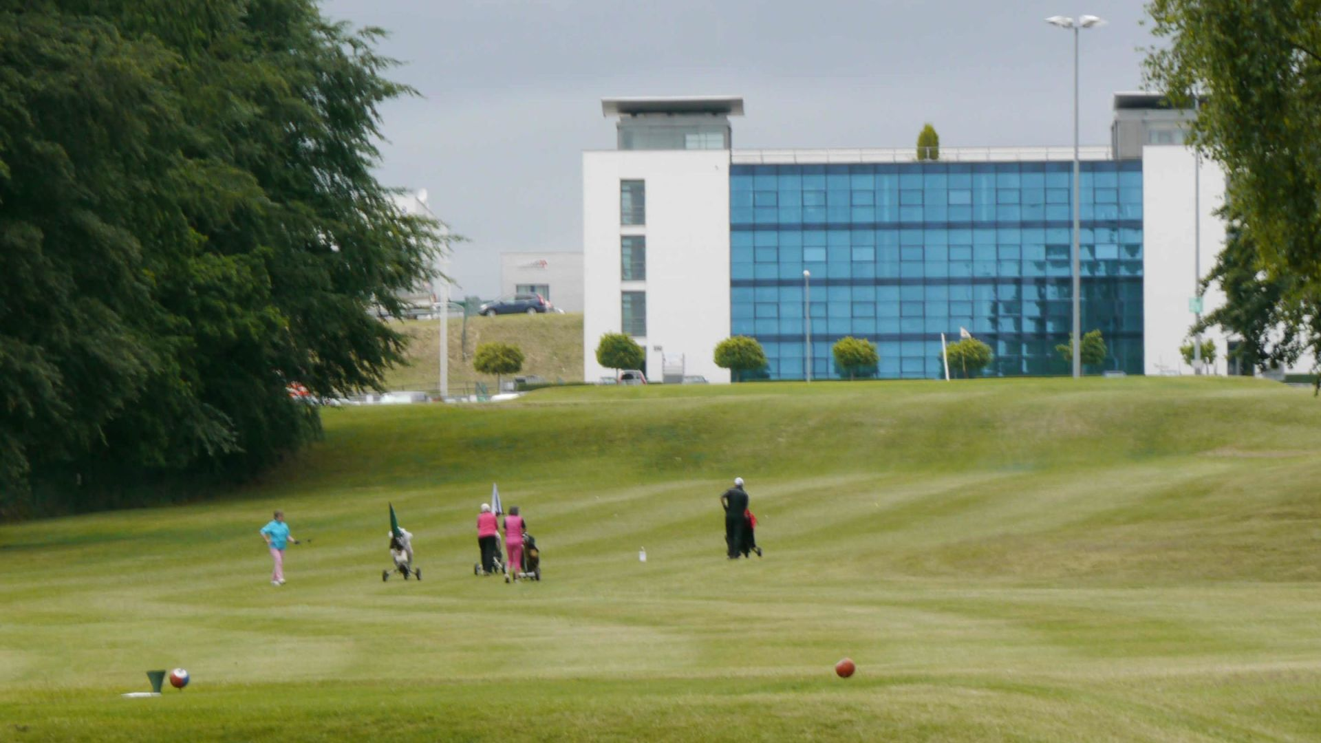 Golfplatz in Hahn-Flughafen