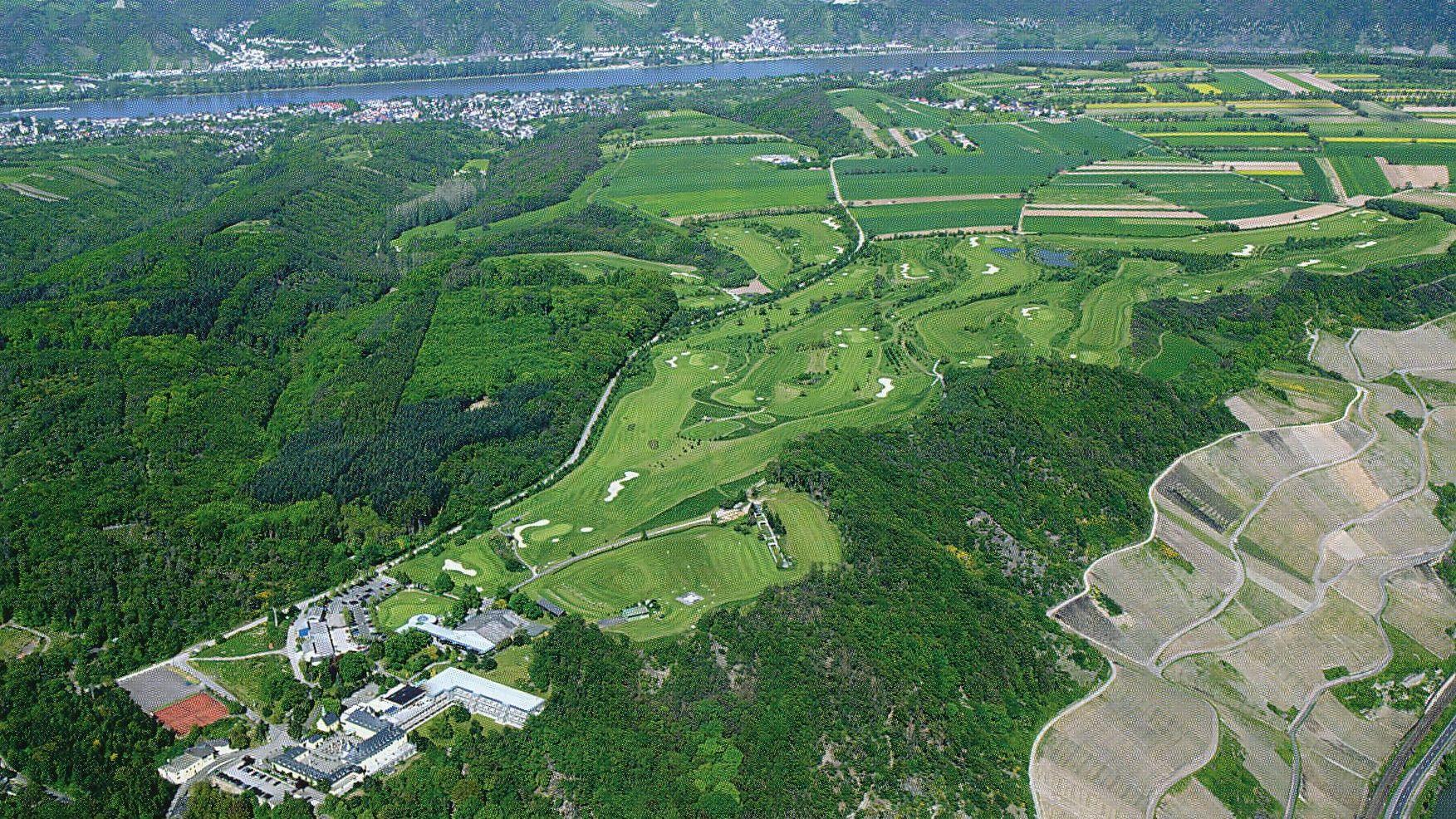 Golfplatz in Boppard/Rhens