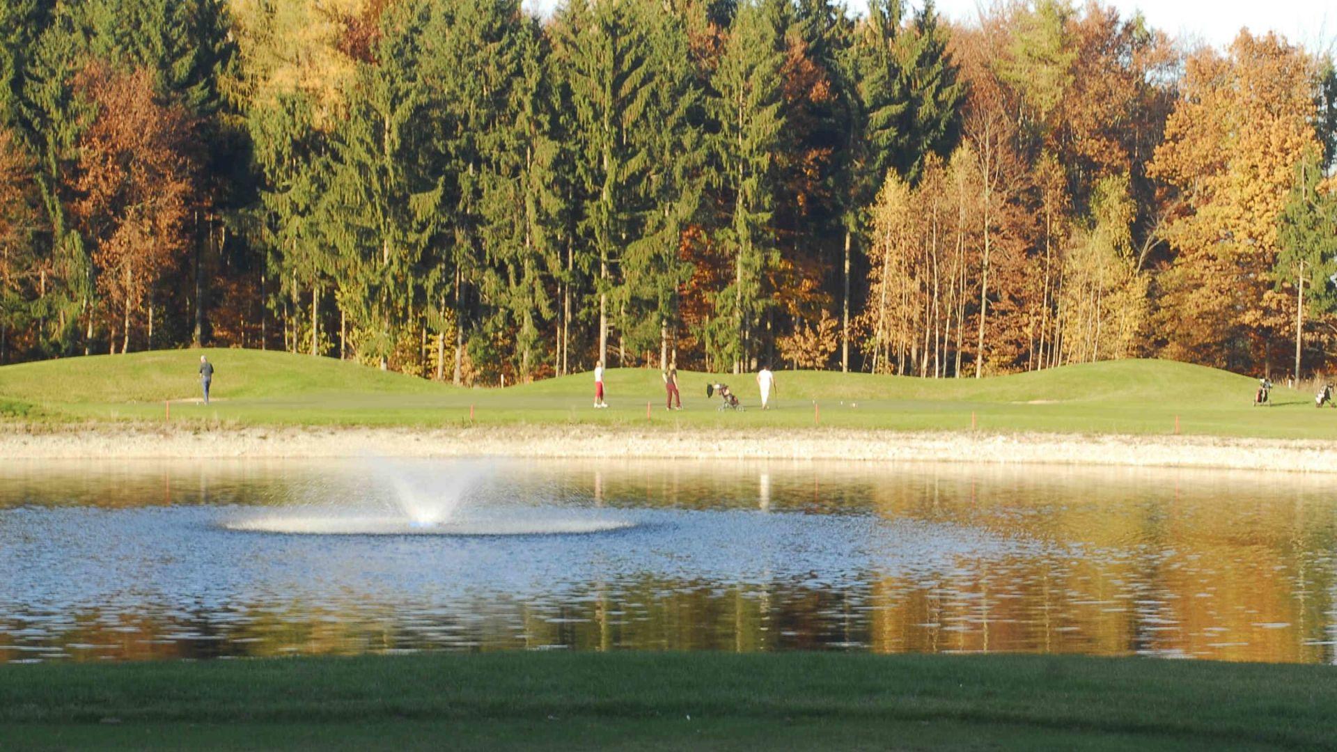 Golfplatz in Tübingen