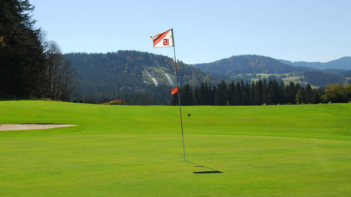 Golfplatz in Titisee-Neustadt