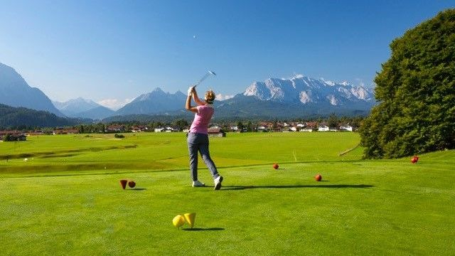 Golfplatz in Wallgau