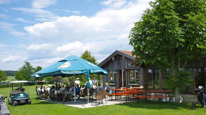 Golfplatz in Obing, OT Kleinornach