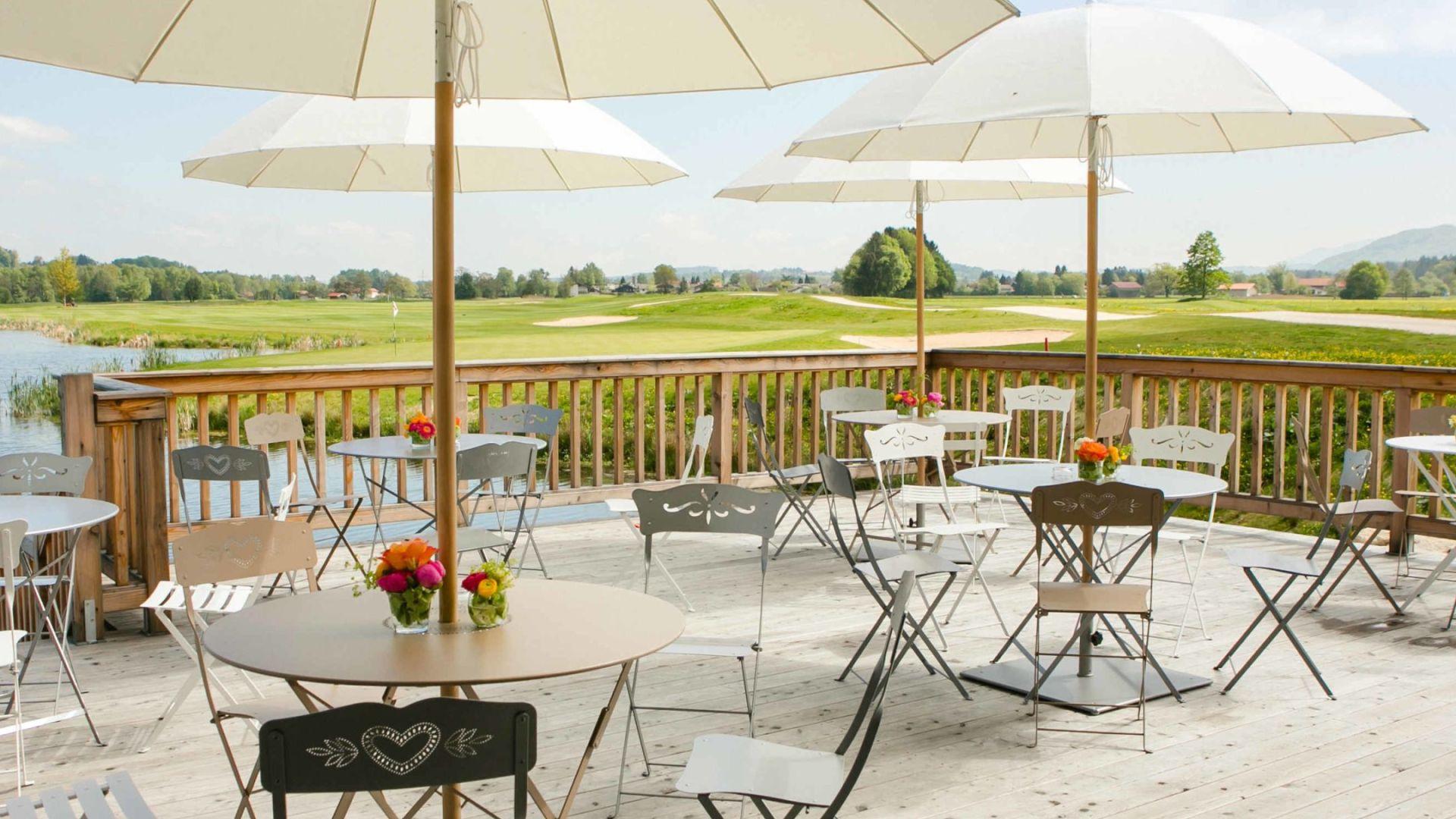 Golfplatz in Grassau/Chiemgau