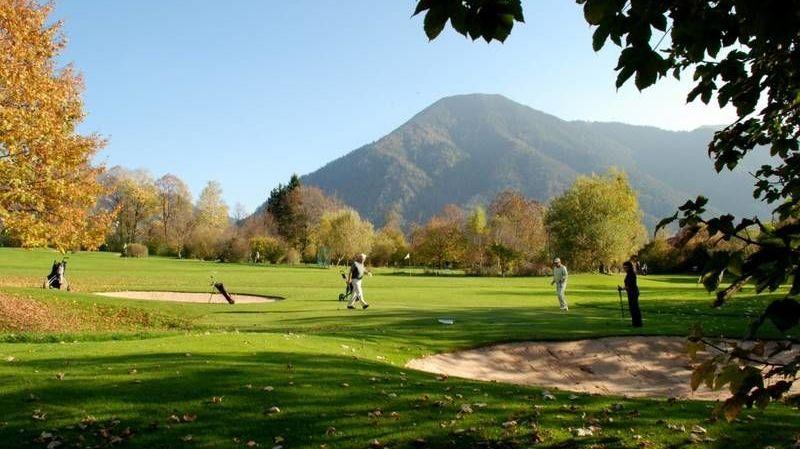 Golfplatz in Tegernsee/Rottach-Egern