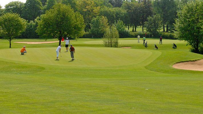 Golfplatz in Königsbrunn