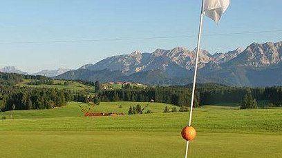 Golfplatz in Nesselwang