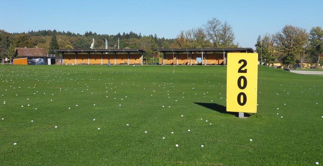 Golfplatz in Buch am Wald