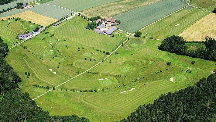 Golfplatz in Landau/Isar