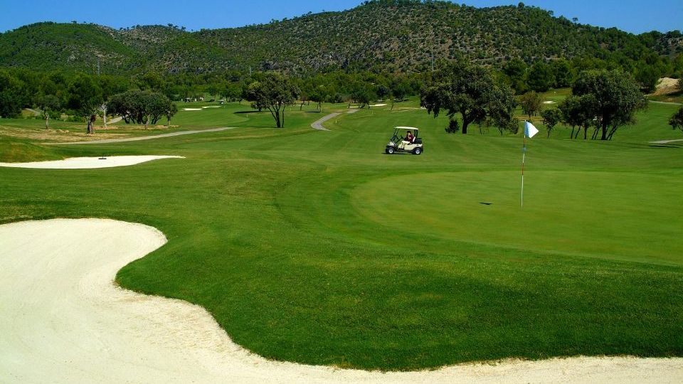 Golfplatz in PALMA